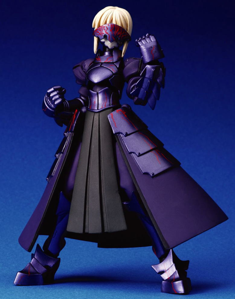 Fate/Stay Night : Saber Alter Revoltech Action Figure
