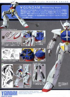 Bandai MG 1//100 WD-M01 Turn-A-Gundam
