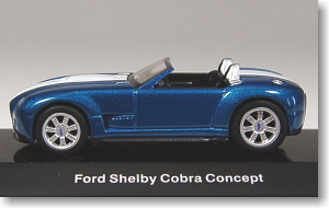 Ford Shelby Cobra concept car 2004 (Blue / White) (Diecast Car)