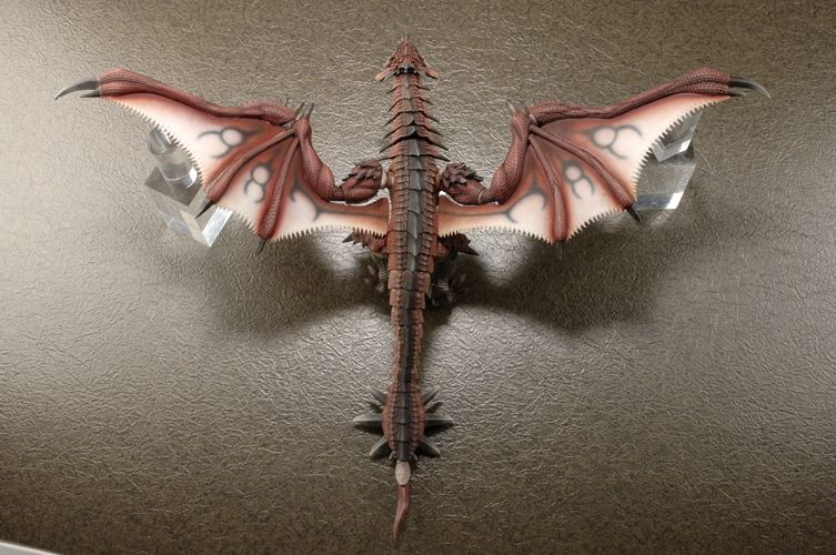 Hi-Blitz King of Sky Rathalos (Figure) Item picture4