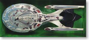 12インチ スターシップ U.S.S エンタープライズ NCC-1701-E (バトルダメージ) (完成品)