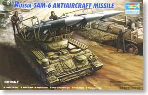 Russia SAM-6 Anti-aircraft Missile (Plastic model)