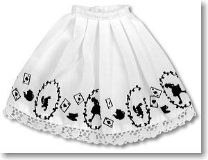 Print Skirt (White) (Fashion Doll)