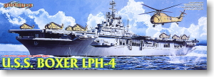 U.S. Navy Assault Ship Boxer LPH-4 (Plastic model)