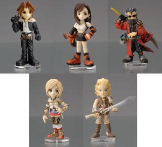 2008 Brand New Factory Box of 9 Figures Final Fantasy Trading Arts Mini Vol 2