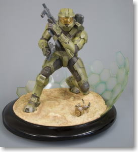 HALO3:MASTER CHIEF FIELD OF BATTLE ARTFX STATUE (PVC Figure)