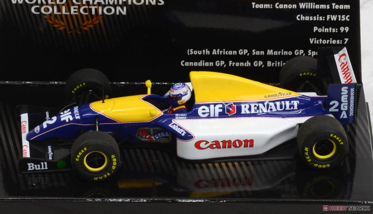 ウィリアムズ ルノー FW15C A.プロスト WC 1993 (ミニカー)