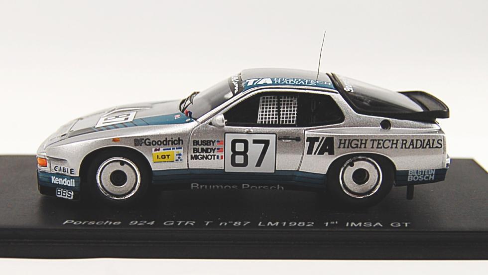 ポルシェ 924 GTR 1982年ル・マン24時間 (No.87) (ミニカー)