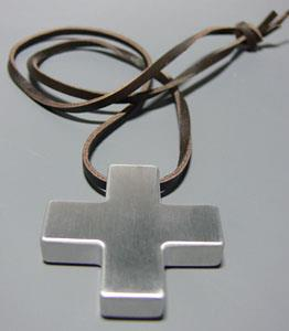 EVANGELION STORE Official Version Katsuragi Misato Cross Pendant (Anime Toy)