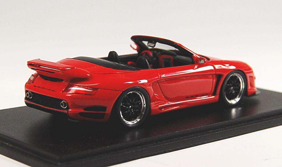ゲンバラ GTR 500 カブリオレ (2007) (レッド) (ミニカー)