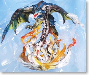 D M A Monster Hunter Fire Dragon Rathalos Subspecies First