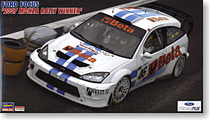 Ford Focus `2007 Mantua Rally Winner` (Model Car)