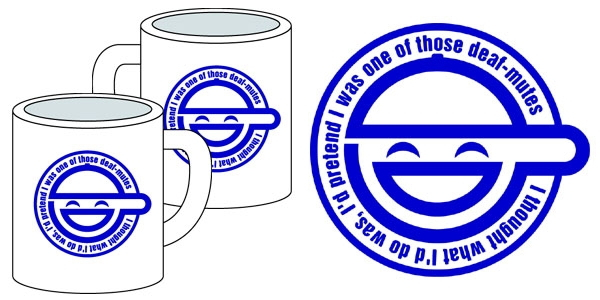 ... in the shell S.A.C The Laughing Man Mug (Anime Toy) Item picture1