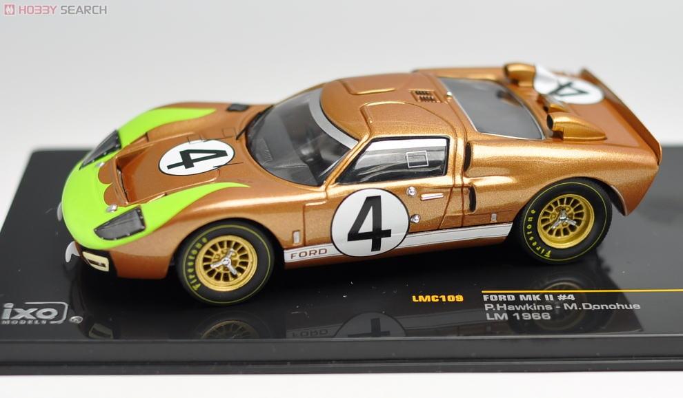 フォード MKII 1966年ル・マン24時間 ドライバー:P.ホーキンス/M.ドナフュー (No.4) (ミニカー)