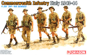 Commonwealth Infantry Italy 1943 (Plastic model)
