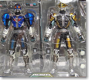 S.I.C. LIMITED 仮面ライダー電王ロッドフォーム&仮面ライダー電王アックスフォーム (完成品)