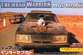 The Road Warrior Mad Max 2 Interceptor Ver.2 with Dog (Model Car)