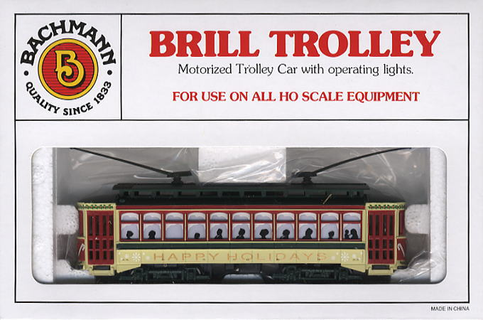Ho Christmas Train.Ho Christmas Trolly Model Train Hi Res Image List