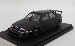 Alfa Romeo 155V6 TI ITC (Plain Color Model: Black) (ミニカー)