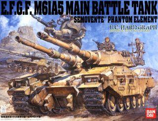 EFF Type 61 Tank 5 `Semovente Squad` (Gundam Model Kits)