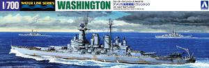 アメリカ海軍戦艦 ワシントン (プラモデル)