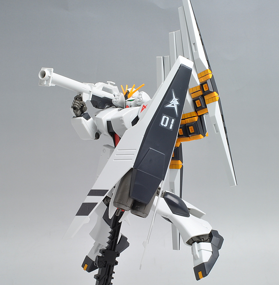 Nu Gundam Heavy Weapon System Equipment Type Hguc