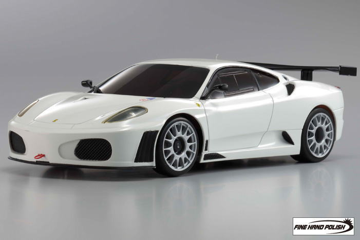 Asc Ferrari F430gt Test Car 2007 White Rc Model Item