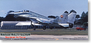 MiG29 Fulcrum Slovakian Air Force (Plastic model)