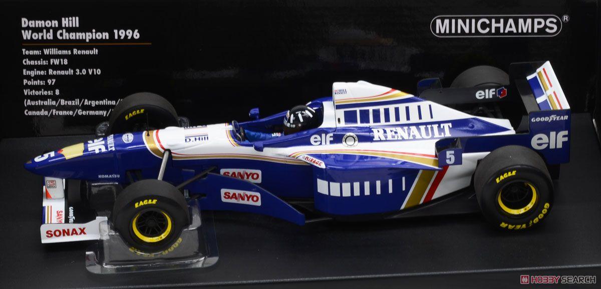 ウィリアムズ ルノーFW 18 1996 D.ヒル ワールドチャンピオン (ミニカー)