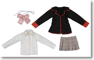 Little Busters! Girls School Uniform Mini Costume (Fashion Doll)