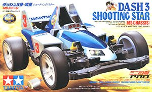 Dash-3 Shooting Star (MS Chassis) (Mini 4WD)