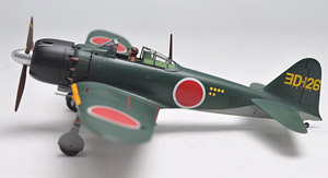 三菱 零式艦上戦闘機 五二型甲 ヨD-126号機 (完成品)