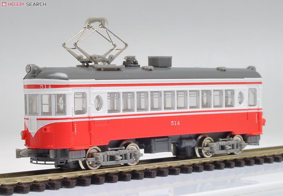 名鉄 モ510形 赤白塗装 (三重連セット) (3両セット) (鉄道模型) 画像一覧