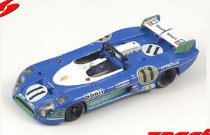 Matra Simca MS 670 B No.11 Winner 24H Le Mans 1973 H.Pescarolo G.Larrousse (Diecast Car)