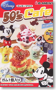 Disney <b>Character</b> 50`s Cafe 10 pieces (Shokugan)