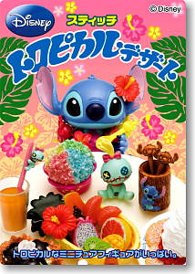 Disney <b>Character</b> Stitch Tropical Dessert 8 pieces (Shokugan)