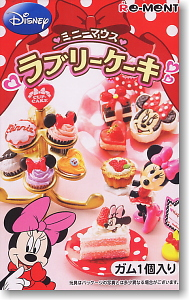 Disney <b>Character</b> Minnie Mouse Lovery Cake 8 pieces (Shokugan)