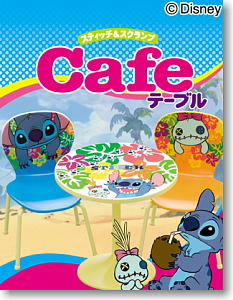 Disney <b>Character</b> Stitch &amp; Skramp Cafe Table (Shokugan)