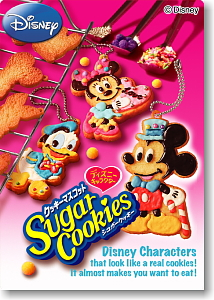 Disney <b>Character</b> Cookie Mascot SugarCookies 10 pieces (Shokugan)