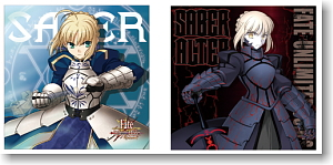 Fate/unlimited codes セイバー&セイバーオルタクッションカバー (キャラクターグッズ)