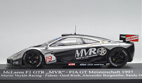 マクラーレン F1 GTR 「MVR」 1997年FIA・GT選手権 Martin Veyhle Racing (No.19) (ミニカー) 通販 - ホビーサーチ ミニカー
