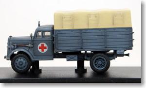ドイツ陸軍 3トンカーゴトラック `野戦救急車` (完成品)