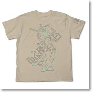 超時空要塞マクロス リガードTシャツ LIGHT BEIGE S (キャラクターグッズ)