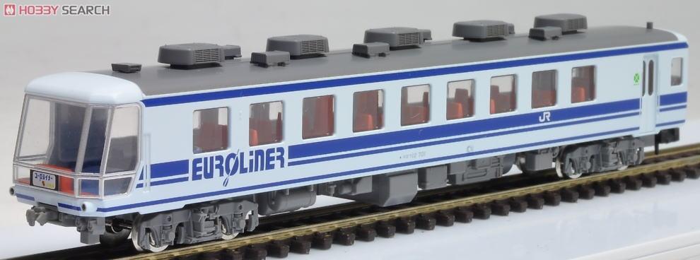 JR 12-700系客車ユーロライナーセット (7両セット) (鉄道模型) 画像一覧