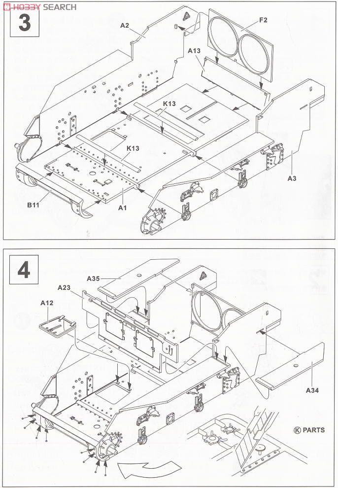 M5a1 Light Tank Late Type Plastic Model Images List