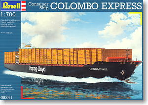 Colombo Express (Container ship) (Plastic model