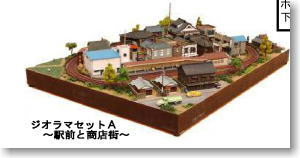 Diorama Set A (Model Train)