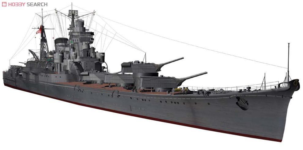 IJN Heavy Cruiser Tone Leyte October 1944 (Plastic model) Item picture1