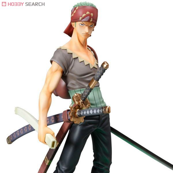 Excellent Model Portrait.Of.Pirates `Strong Edition` Roronoa Zoro (PVC Figure) Item picture8