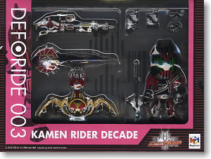 Deforide 004 Kamen Rider Decade (Completed) Package1